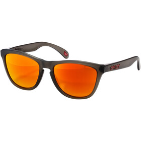 Oakley Frogskins Brillenglas, matte grey/smoke prizm/ruby polarized